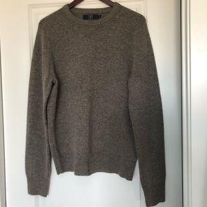 J. Crew Mens Lambswool Sweater Medium